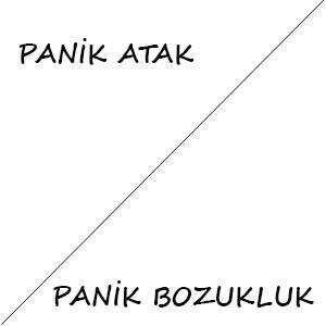 panik atak ve panik bozukluk farkı